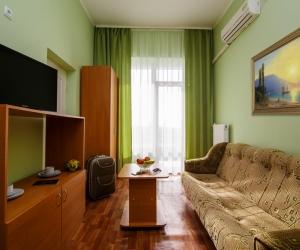 3-местный 2-комнатный «Полулюкс» в корпусе №1