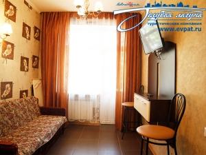 2-х местный 2-х комнатный номер «Полулюкс-комфорт»